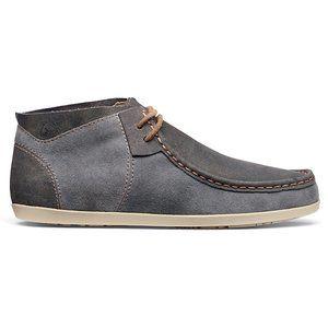 Olukai Women's Poko Shoe Gray/Blue Suede Size 9